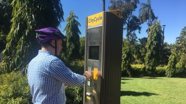 Public and Active Transport chairman Adrian Schrinner said a change in sign-up options increased usage.