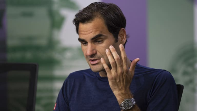 Opportunity lost: Roger Federer searches for reasons behind his shock loss.