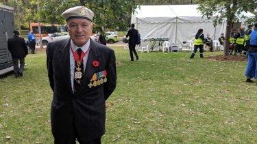 Michael Tucker, who served in the Royal British Air Force in World War Two.