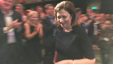 Premier Annastacia Palaszczuk announces she will employ an extra 100 tradies and apprentices in Q-Build each year.