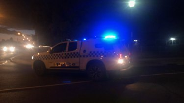 Police at Pakenham responding to reports of a man with a firearm.