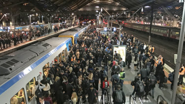 A surging population has put pressure on public transport.