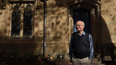 Much of John Rutter's music has become synonymous with Christmas.