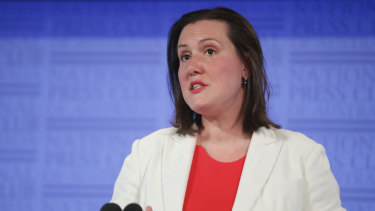 Minister for Women, Kelly O'Dwyer, advised women not to be defined by victimhood.