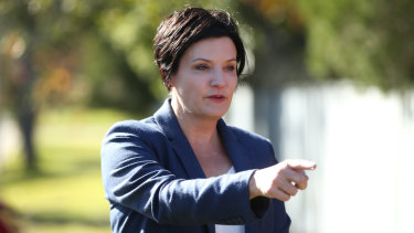 NSW Labor's outspoken roads and maritime spokeswoman Jodi McKay.