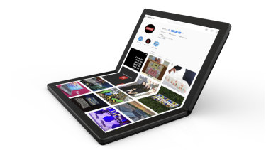 Lenovo's folding-screen ThinkPad is planned for release in 2020.