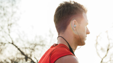 Listening to podcasts and upbeat music playlists can help take the boredom out of running.