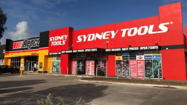 Sydney Tools has taken up space at the Caroline Springs large-format hub.