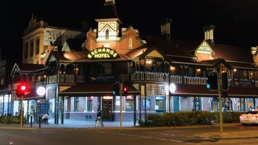 The Exchange Hotel in Kalgoorlie's city centre is famous for its skimpies.