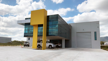 Four industrial warehouses at 7, 9, 13 and 14 Market Drive have been leased.