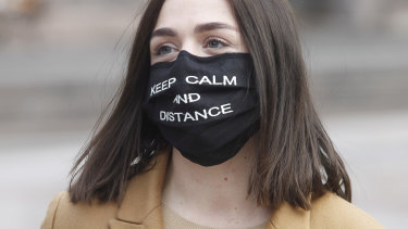 Masks will already be making an added difference now, and we should start to see benefits of that this week.