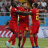 Belgium fight back from two down to beat Japan