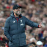 Klopp warns Liverpool against 'banana skin' at Old Trafford