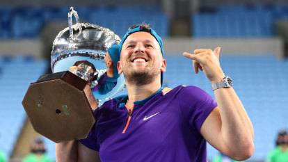 Dylan Alcott wins seventh consecutive Australian Open, but could it be his last?