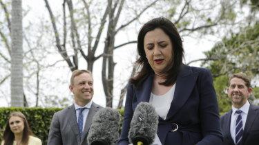 Queensland Premier Annastacia Palaszczuk says the border will reopen next week.