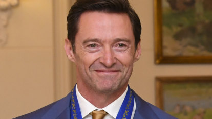 Hugh Jackman receives Order of Australia medal