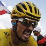 'Wounded but not sunk': Alaphilippe cracks but hangs on to yellow