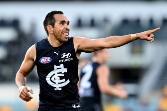 Eddie Betts will do whatever he can for the Blues so the team plays finals football this year.