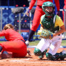Australia's softballers push US to extra innings but lose in heartbreaker