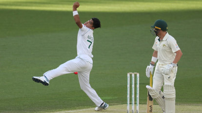 Shah Test debut at 16 'crazy': Cummins