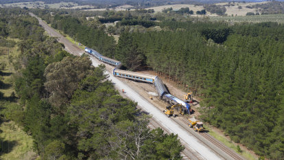 XPT travelling over 100km/h before fatal derailment