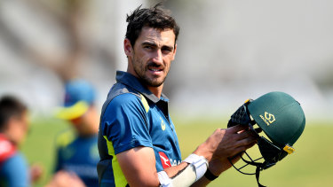 Australian cricketer Mitchell Starc, pictured in South Africa in February,  is also part of the the investment group.