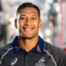 At peace: Folau opens up about faith, footy and why he's staying put