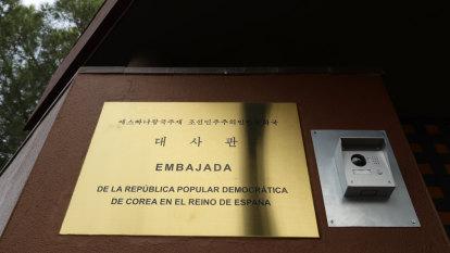 Shadowy group 'broke into N Korean embassy in Spain and took diplomat into basement'