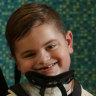 'He woke up paralysed': Rare disease attacks six-year-old Kobe Duck