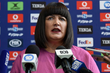 First cab off the ranks: Rugby officials have been told more cuts are in the works at embattled pay broadcaster Fox Sports