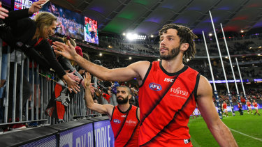 Zac Clarke has been delisted by Essendon.