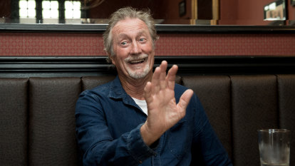 You can't be a slack arse: Lunch with Bryan Brown