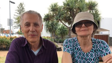 Palm Beach residents Margaret and Sam are pleased with the way the government has handled border closures.