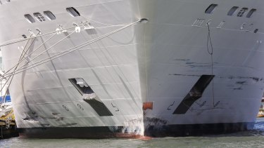 MSC Opera, which rammed into a dock and a tourist river boat in Venice on Sunday.