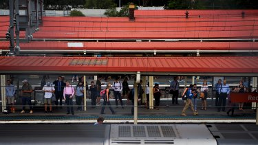 All train services to Redfern Station were stopped following a police incident.