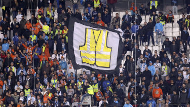 The so-called yellow vests, named after the vests every driver must keep in their car, protested new fuel taxes and the rising cost of living.