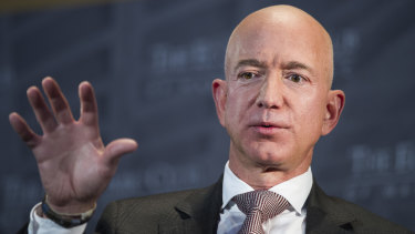 Amazon chief Jeff Bezos runs the global online retailer and owns the US Washington Post, a paper that has vigorously reported on the Saudi Arabian role in the death of journalist Jamal Khashoggi.