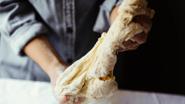 """""""When you bake, you shift your thoughts away from negative thinking to something more focused."""""""