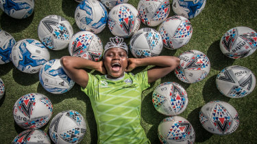 Canberra United player Rhoda Mulaudzi is South African royalty, her grandfather was a king.