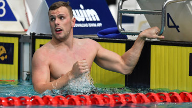 Kyle Chalmers will try to overcome US star Caeleb Dressel in a blue-chip race in Korea.