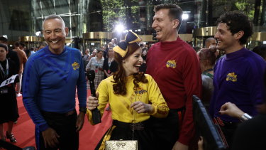 The Wiggles are preparing for a New Zealand tour.