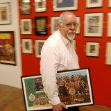 Peter Blake, creator of the Sgt Pepper artwork and DANAD member.