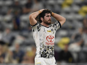 "Cowboys hooker Jake Granville after losing a match his coach Josh Hannay described as ""unloseable""."