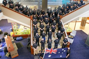More than 50 Australian emergency service personnel will head to Canada to help with firefighting efforts.