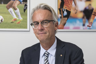 Former FFA and NRL boss David Gallop.