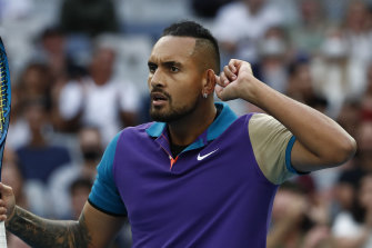 Nick Kyrgios provided plenty of interest during the tournament.