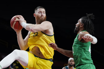 Aron Baynes' Olympics could be over already.