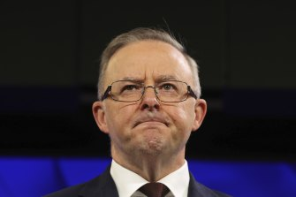 A elelction looming ... Labor leader Anthony Albanese.