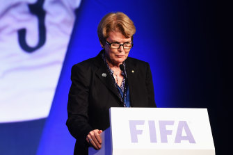 Football Australia director Heather Reid.