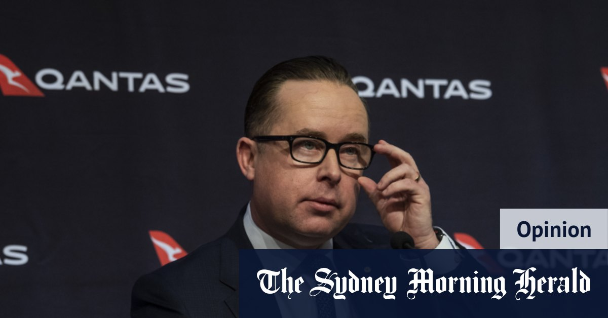 Qantas' remarkable turnaround comes with a lingering hangover for Joyce – Sydney Morning Herald